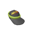 Nerf Cap and Goggles