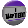 8th Annual Bloxys Voter's Pin