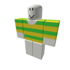 Yellow and Green Striped Shirt