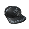 Flipped Rhinestone Hat [Black]