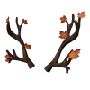 Leafy Antlers of Autumn