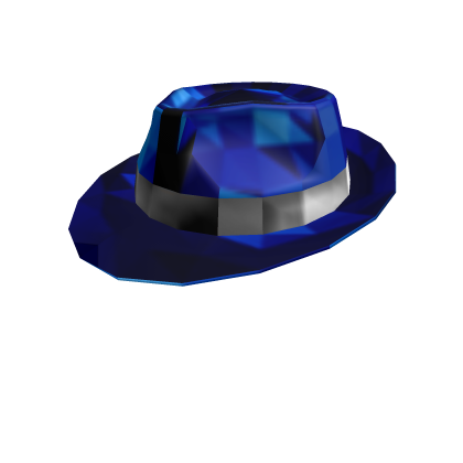 Midnight Blue Sparkle Time Fedora 530719768cf