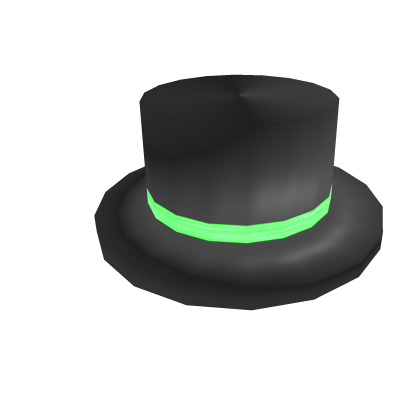 Green Banded Top Hat Rolimon S