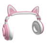 Gaming Kitty Headphones (Pink)
