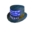 2010 New Year's Top Hat