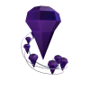 Floating Gems from a Purple Star