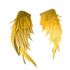 Feather Golden  Wings