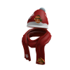 Gingerbread Scarf & Hat