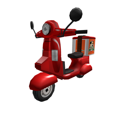 Pizza Delivery Vehicle