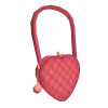 Luxury Heart-Shaped Shoulder Purse