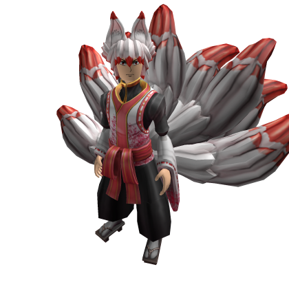 Misfits High Roblox Werewolf Transformation Tenko The Nine Tailed Fox Roblox