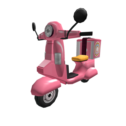 Donut Delivery Moped